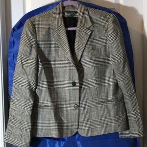 Classic Lauren windowpane blazer